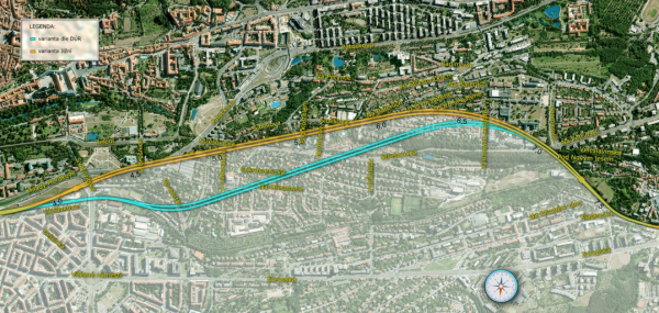 SŽDC vybrala pro střešovické tunely novou jižní variantu, zdroj SŽDC