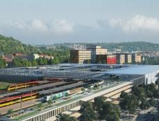 Praha vypíše tendr na dopravní terminál na smíchovském nádraží