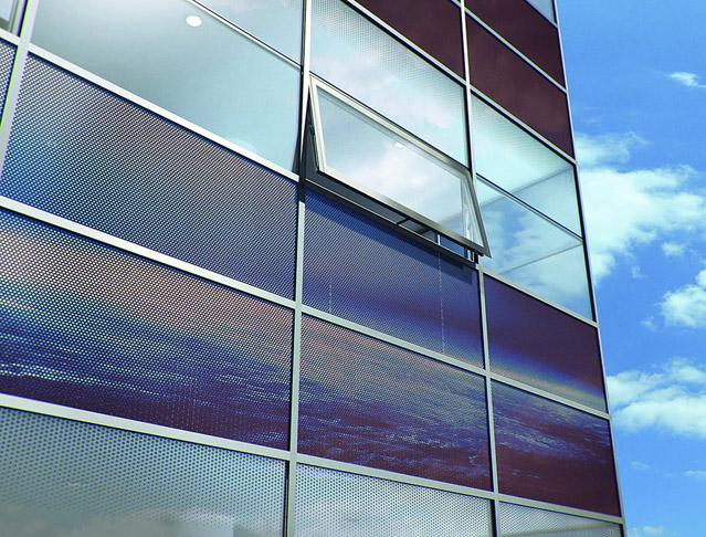 Okna z hlediska úniku tepla, akustiky, prostupu světla či bezpečnosti 12 Celoskleněná termoaktivní fasáda – 2. část