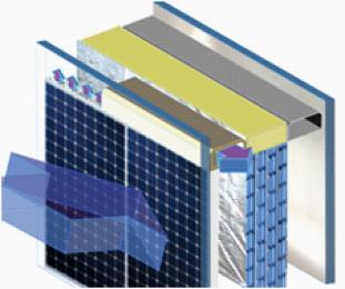 Obr. 7: Využití studeného záření noční oblohy fototermickými panely (zdroj www.energyin.cz)