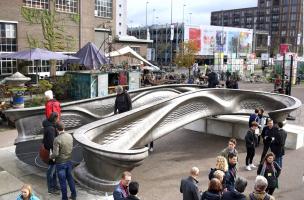 Prezentace mostu na festivalu Dutch Design Week