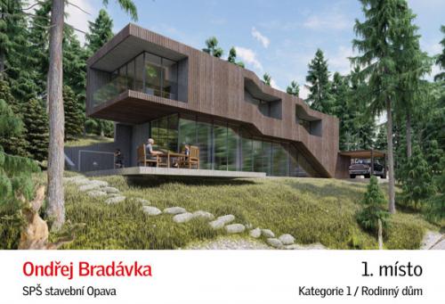 I. cena: Ondřej Bradávka, SPŠ stavební Opava