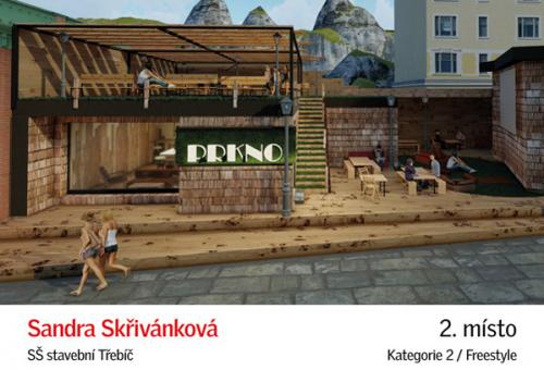 II. cena: Sandra Skřivánková, SŠ stavební Třebíč