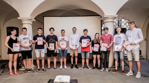 Studenti ocenění s soutěži King of Daylight 2019