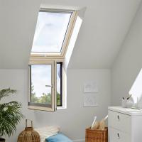 Střešní okno a fasádní vertikální prvek VFA