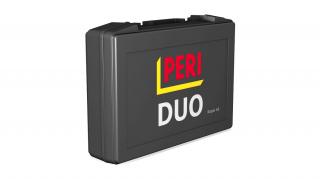 Kufřík pro opravy DUO umožňuje rychlé a levné opravy poškozeného pláště bednění přímo na stavbě