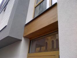 Bytový dům, Fráni Šrámka, Č. Budějovice – kreativní technika fládrování