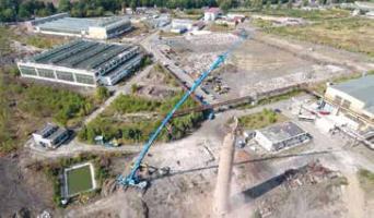 Panattoni Park Ostrov North – rekordní využití druhotných surovin při revitalizaci brownfieldu