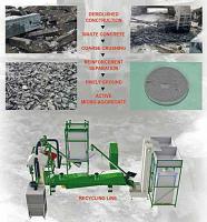 Stavební nízkonákladový systém s vysokým obsahem odpadních surovin
