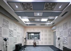 Desky Gyptone v nahrávacím studiu Taurus Records v Ostravě