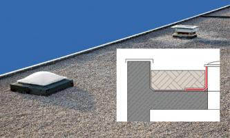 Použití stěrky MB 2K na ploché střeše