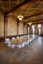Vhistorických interiérech byly restaurovány všechny původní prvky