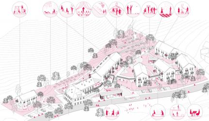 Rekonstrukce a dostavba usedlosti Šatovka