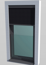 Systém PROGRESS ALU SCREEN, kdy je okno doplněno předokenní stínicí screenovou clonou