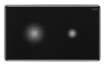 Bezdotykový komfort při splachování, zaoblené hrany a černé sklo – senzitivní deska Visign for More 205. I tato ovládací deska má za cíl dotvářet vysoce funkční a zároveň esteticky krásnou koupelnu. Splachování se spouští zcela bezdotykově podržením ruky v blízkosti požadované funkce. Samotná funkce splachování se zaktivuje rozsvícením pixelového mraku poté, co se uživatel přiblíží do vzdálenosti přibližně 2,5 m od desky.