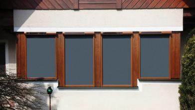 Markýzy pro fasádní okna od firmy FAKRO