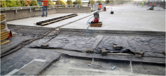 Obr. 3: Skladba nového střešního pláště