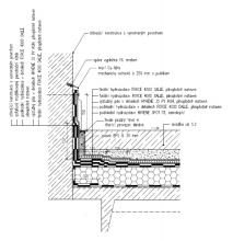 Obr. 16: V rámci provádění byl detail na obr. č. 14 modifikován do tohoto