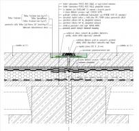 Obr. 20: Konstrukční řešení objektové dilatace