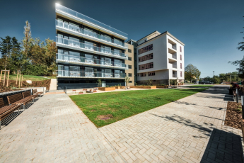 Rekonstrukce Nemocnice Dačice na nový domov pro seniory
