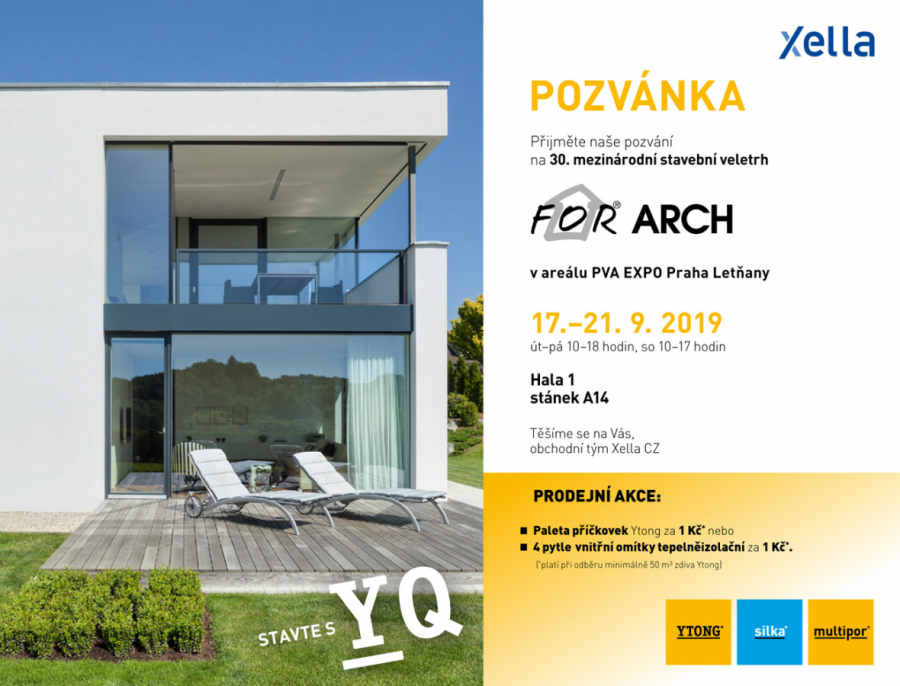 Ytong zve na For Arch 2019