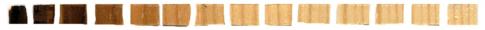 Obr. 7: Štúdia základne pyrolýzy a zóny pyrolýzy (analýza po 1 mm)