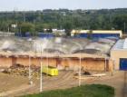 Hala tramvajové vozovny v Hloubětíně byla odstřelena