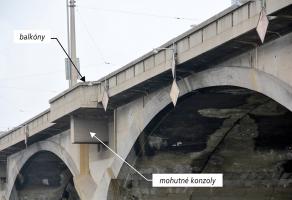 Obr. 2a: Konstrukce mostu