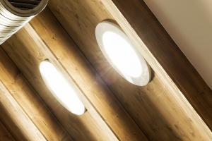 Světlovody Lightway v rodinném domku v Praze 6