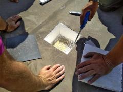 Uložení měřicí sondy do střešního pláště
