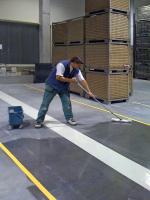 Hloubková impregnace podlahy uzavírající trhliny