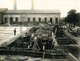 Vodárenská čerpací stanice – původní stav z roku 1929