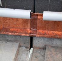 Obr. 22: Dilatace promítnutá do klempířských prvků