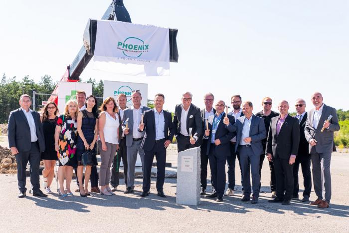 HSF System postaví v Praze velkokapacitní sklad pro distributora léčiv Phoenix