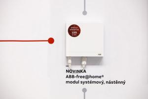 ABB-free@home – systémový modul nové generace umožňující zapojit až 150 prvků inteligentní elektroinstalace