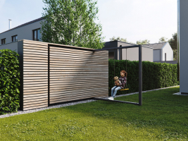 Chytrý modulární plotový systém AITAA