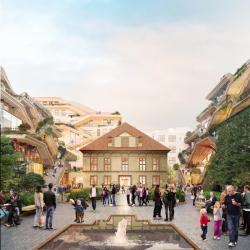 Projekt oživí stávající historické budovy a zároveň přinese novou architekturu do vnitrobloku kolem jízdárny...