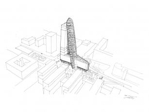 Trigema plánuje postavit v Nových Butovicích nejvyšší budovu v Česku