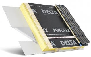 Skladba střechy s fólií DELTA®-PENTAXX na bednění