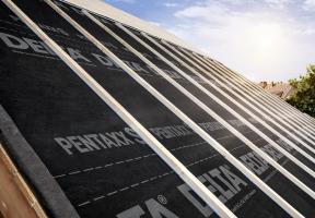 Realizace střechy s s fólií DELTA®-PENTAXX