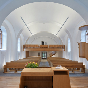 Rekonstrukce kostela v Hodslavicích