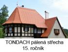Wienerberger vyhlásil 15. ročník soutěže Tondach Pálená střecha