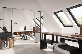 Novinka VELUX – černé střešní okno v prémiové kvalitě
