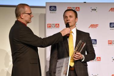 Ocenění převzal ředitel společnosti Schiedel Ing. Tomáš Pogány
