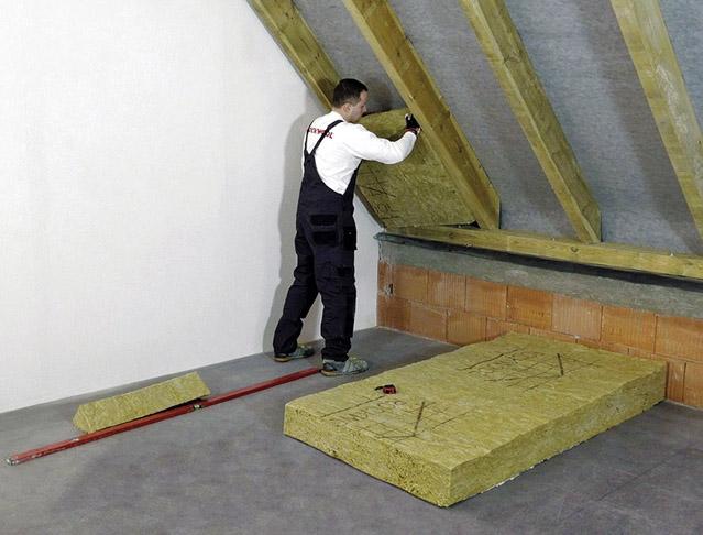 Systém TOPROCK pro zateplení šikmých střech