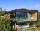 Hliníková okna Schüco v drsném podnebí norských fjordů