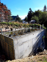 Obr. 12: Nový rezervoár vody pro systém stabilního hašení