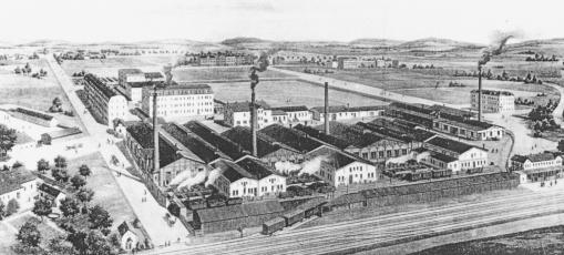 Sklárna Řetenice před rokem 1900