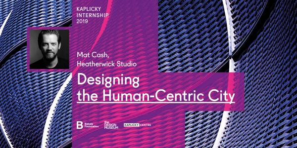 Mat Cash představí projekty studia Heatherwick a vyhlásí vítěze Kaplicky Internship 2019