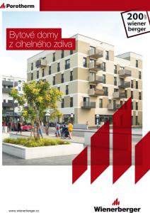 Publikace Bytové domy – návrh vícepodlažních cihelných budov